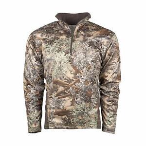6dfeb771506f7 King's Camo KC1 1/4 Zip Pullover Hunting Shirt Desert Shadow | eBay