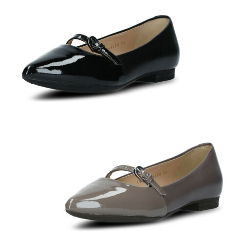 GEOX Ballerines Femmes Chaussures Ballerine en cuir véritable dentelle simili cuir taille 36