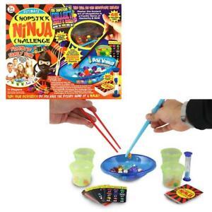 Chopstick-Ninja-Challenge-Board-Game-Party-Family-Fun-Skill-Adult-Kids-Children