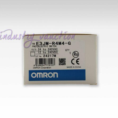 1PCS NEW OMRON Photoelectric Switch Sensor E3JM-R4M4-G free shipping