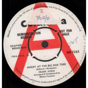 FRANK-IFIELD-Angry-At-The-Big-Oak-Tree-7-034-VINYL-UK-Columbia-Demo-B-W-Go-Tell-It