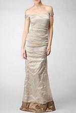 Nicole Miller off Shoulder Crinkle Gown 2 Cs0016