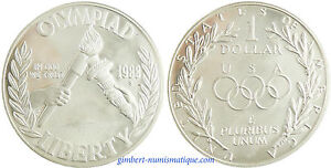 USA-DOLLAR-ARGENT-JEUX-OLYMPIQUES-1988-S-PROOF