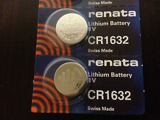 USA Authd Seller RENATA 2 two ECR1632 CR1632 1632 BR1632 DL1632 ECR1632 Battery