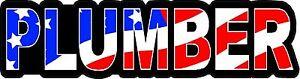 3-Plumber-US-Flag-Lunch-Box-Hard-Hat-Tool-Box-Helmet-Sticker-H144