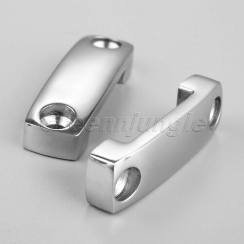 """2Pcs Boat 1.92/"""" Battery Cargo Tie Down Strap Mounting Saddles for 1.12/"""" Straps"""