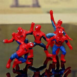 Spiderman-Figure-Avengers-Spider-Man-mini-Model-Doll-PVC-Kids-Toys-Hero-Gift