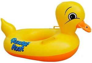 Inflatable-Rubber-Duck-Pool-Float-for-Kids-baby-Swimming-Pool-Floats-Boat-Seats