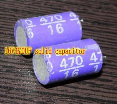 4V220uf Solid Aluminum electrolytic capacitor HiFi Audio Capacitors