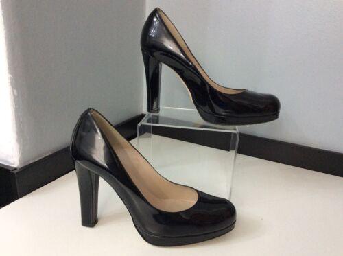 da Court Bromley in e cerimonia Scarpe cinturino da Vgc nera Rrp 5 Size38 Leater Scarpe pelle vernice con in £ 295 wBqxAx8td