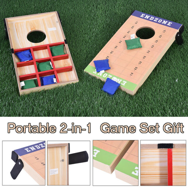 Brilliant Outdoor Fun 2 In 1 Cornhole Bean Bag Toss Game And Tic Tac Toe Game Set Gift Onthecornerstone Fun Painted Chair Ideas Images Onthecornerstoneorg