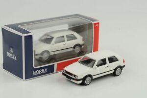 Volkswagen-VW-Golf-Gti-G60-1990-Jet-Car-White-1-43-Norev-Diecast