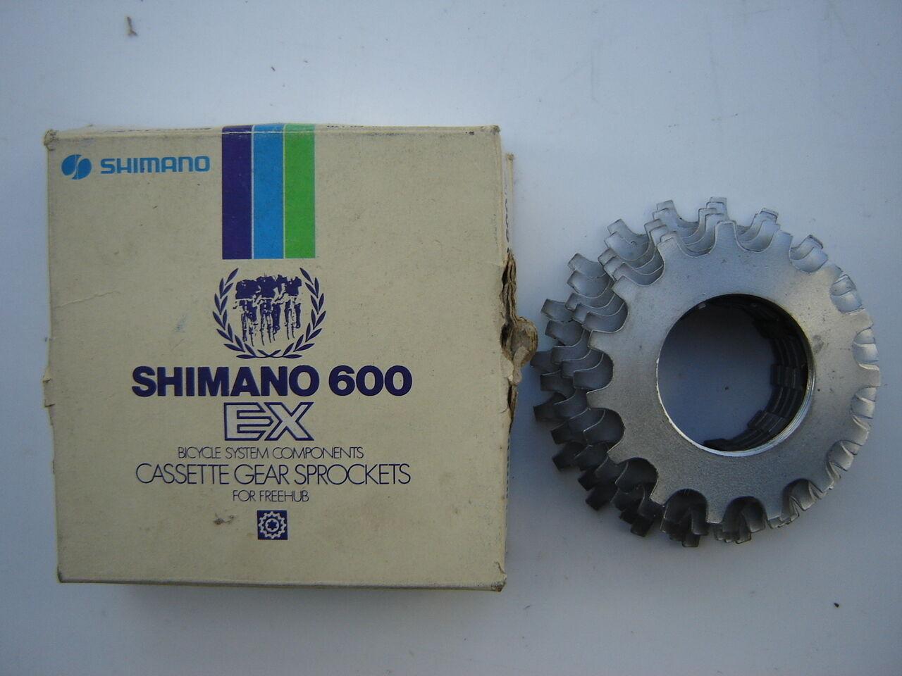 SHIMANO 600 EX   AX 6-SPEED CASSETTE 15-20  NOS - NIB