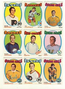1971-72-OPC-PICK-FROM-DROP-DOWN-MENU-TO-COMPLETE-YOUR-SET-GOOD-TO-VG-SEE-PICS