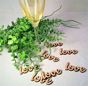 039-Love-039-Word-Wooden-Table-Confetti-Wedding-Rustic-Vintage-Wedding-Scatter-Decor