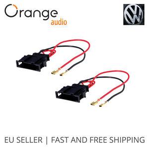 radio stereo speaker wire harness adapter plug for vw seat passat rh ebay com metra speaker wire harness adapters speaker wire harness adapter 2006 ford trucks