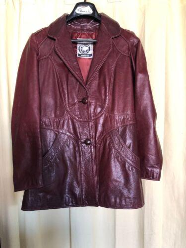 RARE East West leather jacket vintage musical inst