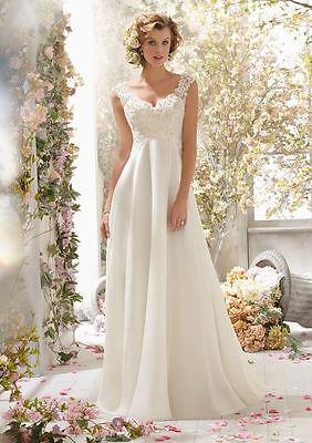 2014 New White/Ivory Pregnant big plus Bridal Gown Wedding formal Dress Custom