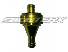 """Gold Fuel Filter 1/4"""" Honda Ruckus Metropolitan Scooter Elite Express silverwing"""