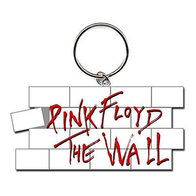 Pink Floyd the Pared Formado Metal Llavero (Ro)