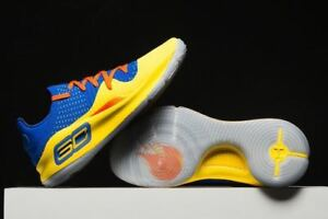 Under Armour Curry 4 Low NBA Jam blue