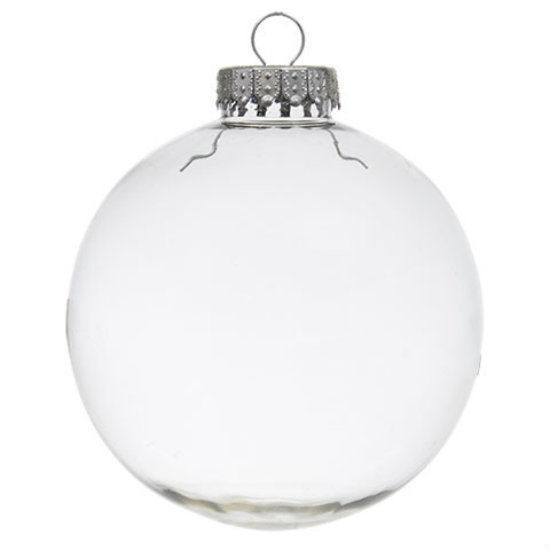 diy clear plastic fillable paintable christmas ball. Black Bedroom Furniture Sets. Home Design Ideas
