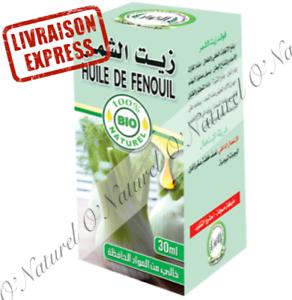 Huile-de-Fenouil-BIO-100-Pure-amp-Naturelle-30ml-Fennel-Oil-Aceite-de-Hinojo