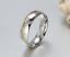 Coppia-Fedi-Fede-Fedine-Anello-Anelli-Fidanzamento-Nuziali-Oro-Acciaio-Zircone miniatura 6