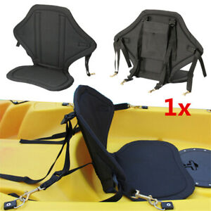 Removable-Rafting-Backrest-Seat-Cushion-Canoe-Kayak-Boat-Seat-Pad-Mat-w-Pouch