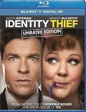 IDENTITY THIEF (Blu-Ray Disc + Digital HD-Ultraviolet) UNRATED <NEW> (FREE SHIP)