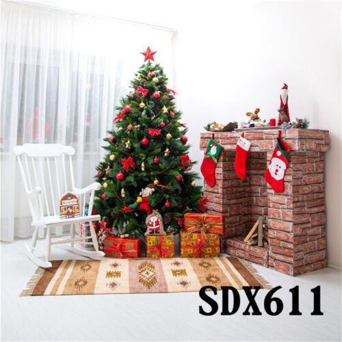 Christmas Decoration Snowflake Halo Vinyl Photography Studio Backdrop Background