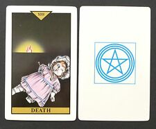 Vintage Newwave Tarot Cards Deck Japan by M. Muro & Alexandria Mokuseioh 1980