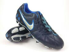 Nike Pour Hommes RARE Total 90 Strike lll L-Pignon fixe 385405-160 Blanc Football Crampons Bottes