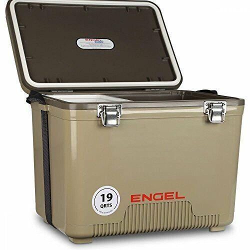 Engel Cooler//Dry Box 19 Qt Tan