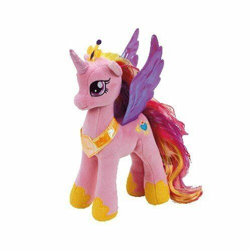 ty sparkle beanie babies my little pony princess cadence 8in ebay