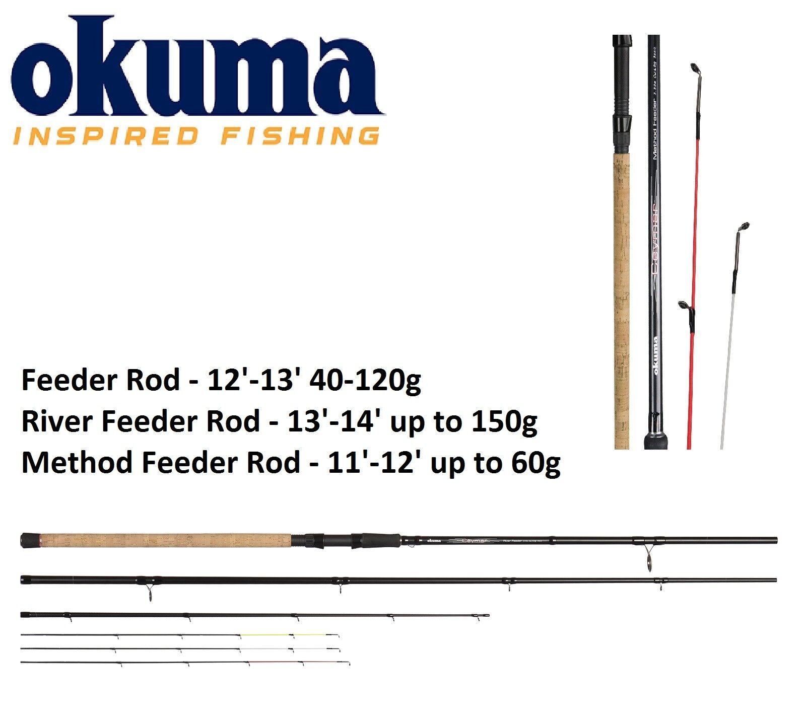 Neu 2018 Okuma Okuma Okuma Ceymar Streichholz Feeder Angelrute Methode Fluss Karpfenangeln 524c3c