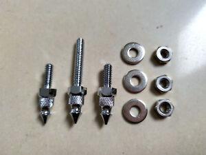 Ciro 10110 Chrome Windshield Screw Cap Kit for Harley 14-20 FLHT//FLHX /& Trike