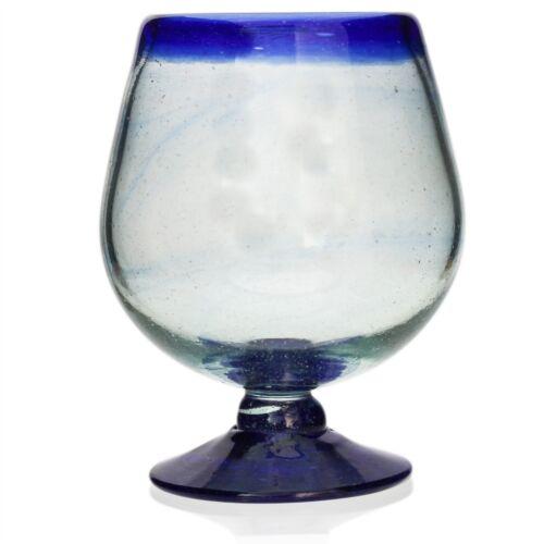 Large Brandy Glass-Main soufflé du Mexique-éthiquement Sourced