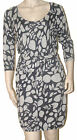 NEW WITH TAGS LADIES SZ 14 TARGET GREY COTTON KNIT DRESS