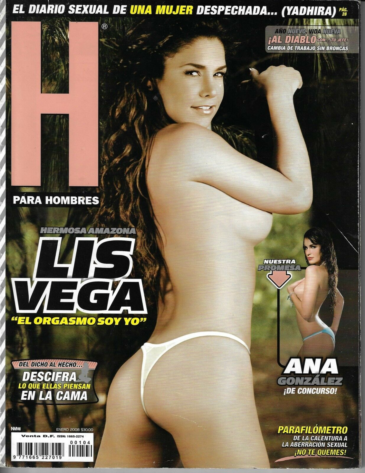 Altair Jarabo Revista H adriana riveramelo h para hombres magazine 2008 altair jarabo jessica alba  fox