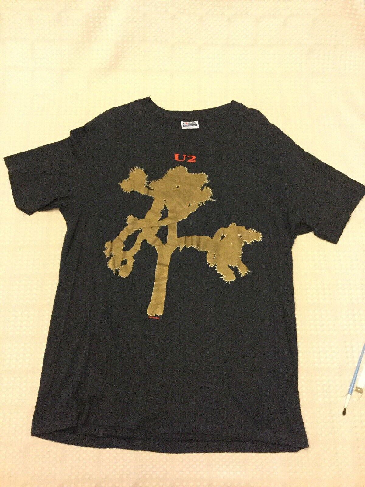 U2 T-Shirt Joshua Tree 1987 Size XL X-Large Purchased 32 Years Ago Vintage