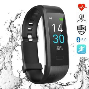 FITNESS PRO FITBIT STYLE ACTIVITY TRACKER SMART WATCH BAND HEART RATE STEPS