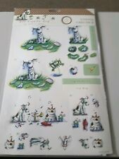 B146 Lovely Hot Diggity Dog 3D Sentiments Designed by Andrea Jayne  Docrafts