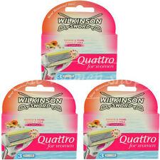 9 Wilkinson Quattro for women Rasierklingen Papaya Pearl Neu Original verpackt