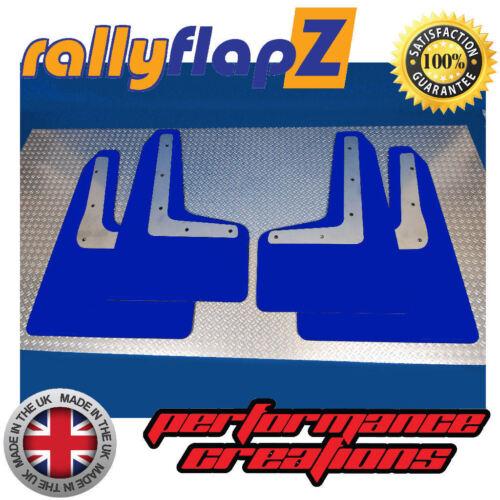 Mud Flaps /& Fixings Blue 4mm PVC Mudflaps to fit Subaru Impreza WRX STi 2014