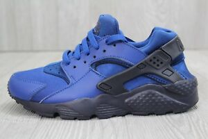 quality design 62a40 fb035 Image is loading 28-Nike-Huarache-Run-GS-Gym-Blue-Obsidian-