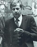 William B DAVIS SIGNED Autograph Photo AFTAL COA X-FILES Cigarette Smoking Man
