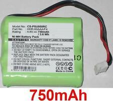Batterie 750mAh type 8100-911-02101 HHR-60AAA/F4 Pour Philips Pronto RU970