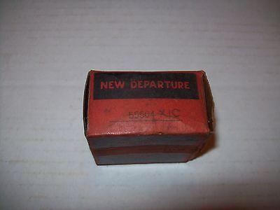 NIB NEW DEPARTURE 77R8T1C  0.5 X 1.125 X .312 IN  2 METAL SHIELD BEARING P1246