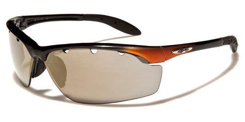 Sunglasses New Sport Designer Shades Wraps Xloop Men Women Blue Black XL267B
